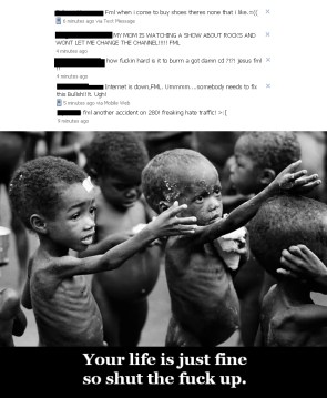 Your life is just fine