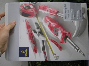Pink Flower ToolSet