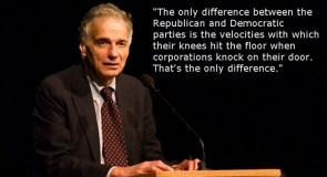 Nader on political parties