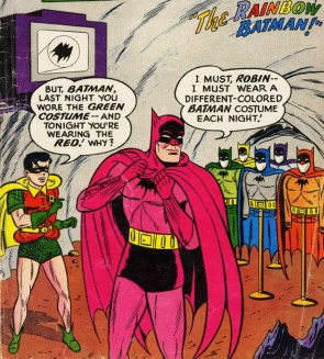 Rainbow Batman!