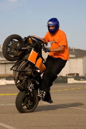 Motorcycle Stunter