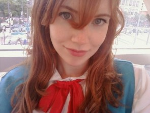 ginger school girl