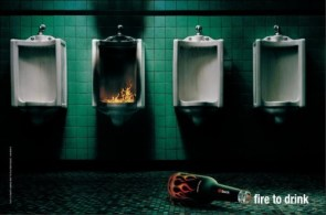 """Burn"" Drink Advertisement"