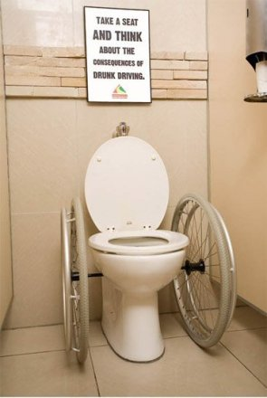 Wheelchair Toilet