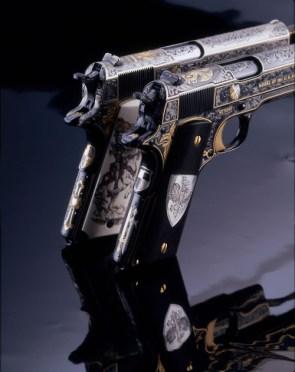 detailed gun