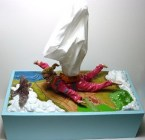 Skydiver Tissue Box