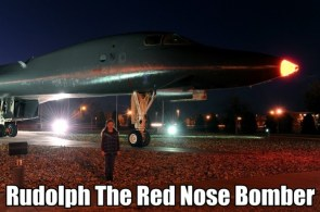 rudolph the red nose bomber