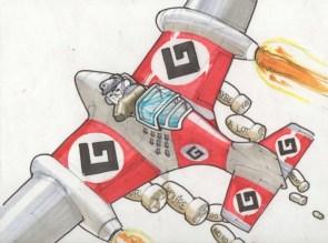 GRAMMER NAZI BOMBER