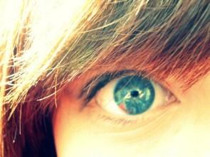 big green eye