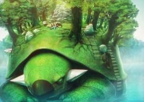 giant turtle pokemon