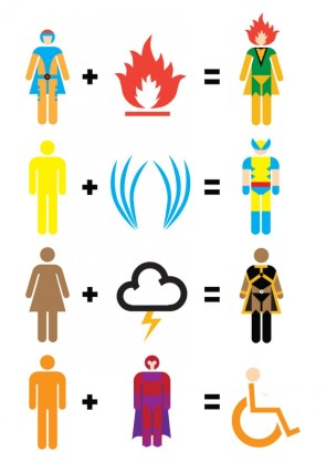 X-Men Mathematics by Matt Cowan