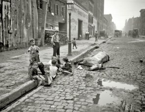 The early streets of New York