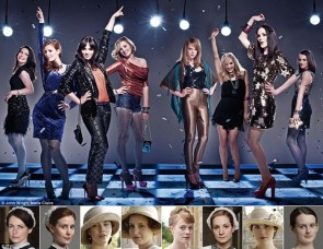 Downton Abbey Disco Girls