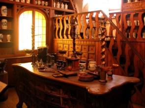 Louis Pasteur's chemistry lab