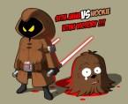 Jawa vs Wookie