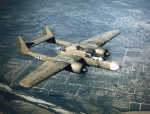 old WWII bomber