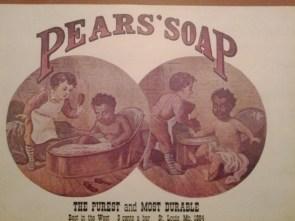 Vintage soap ad