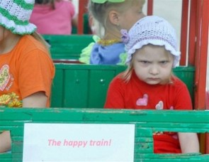 The happy train!