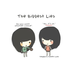 The biggest lies