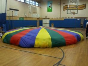 the parachute game