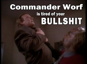 Commander Worf