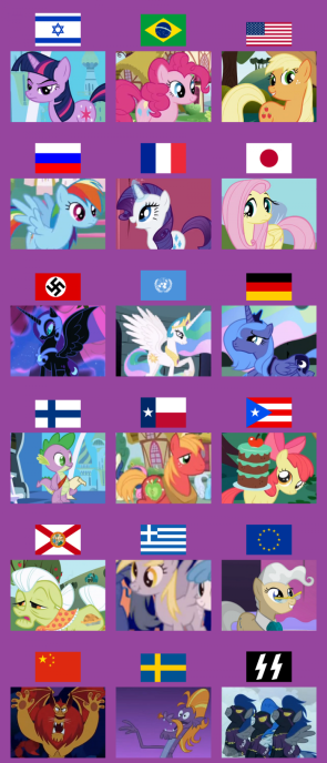 pony nationalities