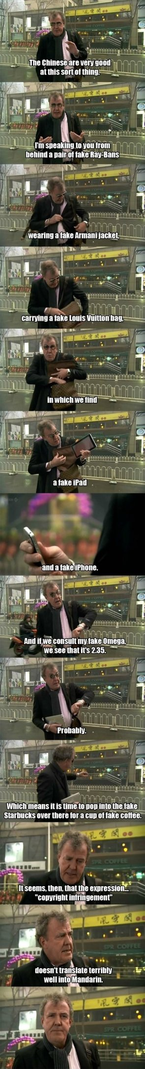 top gear on chinese