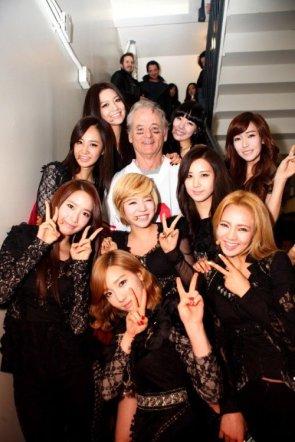 Bill Murray and Girls Generation