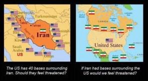 iran america comparison
