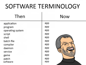 software terminology