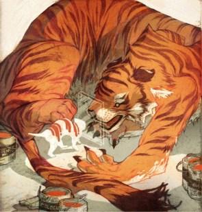 kitty vs. tiger