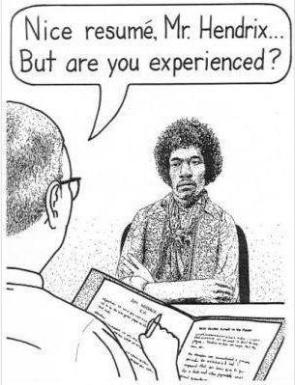 Hendrix job interview