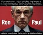 Bigot Ron Paul