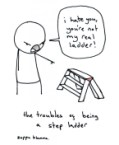 Sad life of step ladders