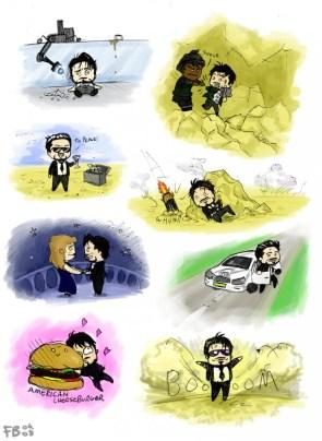 Tony Stark Minis