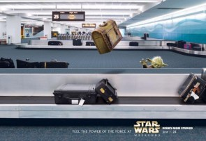 Star Wars – exhibition ads