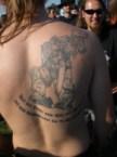 Space Marine Tattoo