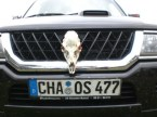 Chaos license plate