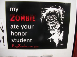 My Zombie Ate your Honor Student