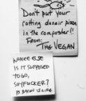 Vegan vs. Bacon