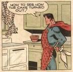 Superman bakes