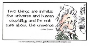 Einstein on Stupidity