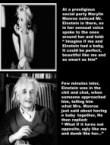 Einstein and Marilyn