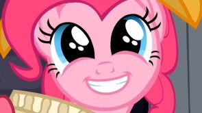 the face of pinkie pie