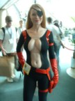 NSFW – Nom-licious eye-patched cosplayer
