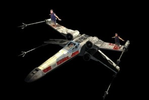 """X"" Wing Space Surfing"