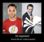 Sheldon Vs. House