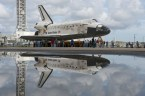 shuttle and reflection