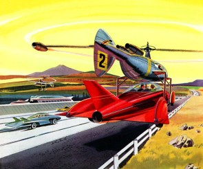 What highways will look like in the year 2000