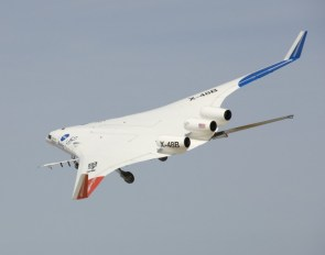 B-52 test plane